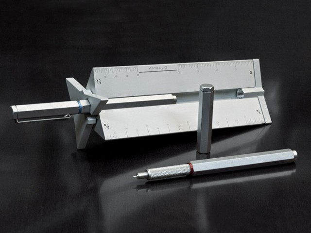 The Apollo Technical Pen and Drafting Scale
